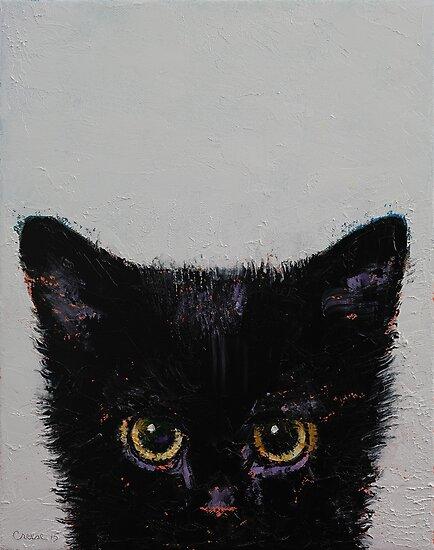 Black Kitten by Michael Creese
