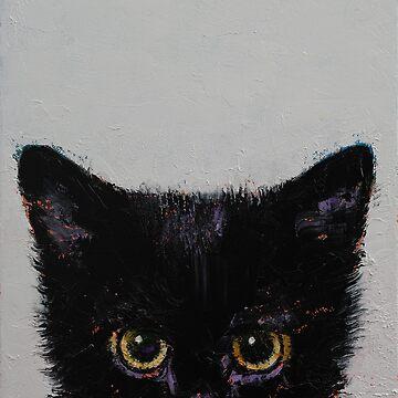 Black Kitten by michaelcreese