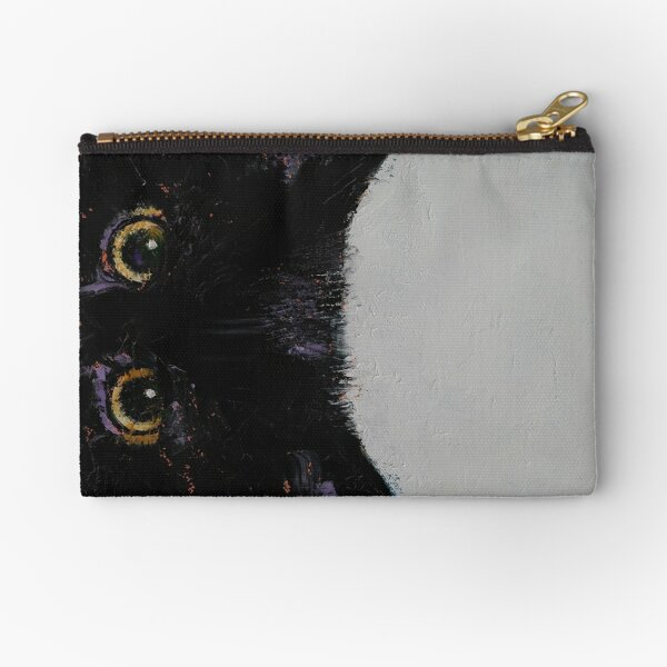 Black Kitten Zipper Pouch