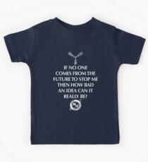 Nerd Time Travel Kids Clothes