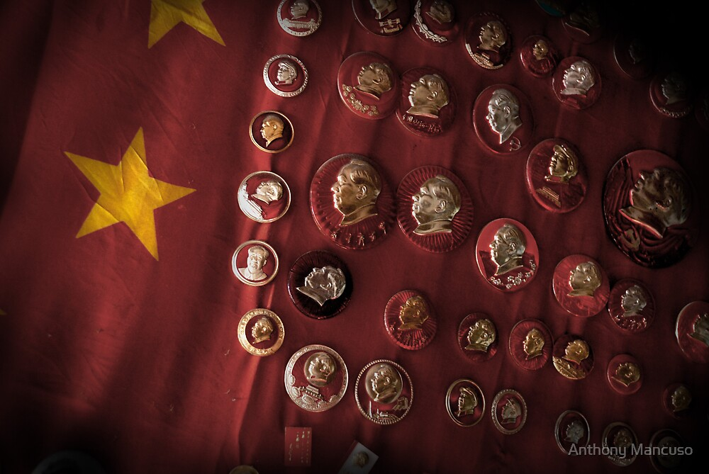 faces of mao by Anthony Mancuso