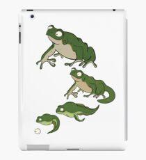 Frog-Cycle iPad Case/Skin
