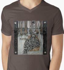 Swamp Music Players,The Ferryman & a black widow bayou gothic noir Baron Samedi, voodoo V-Neck T-Shirt