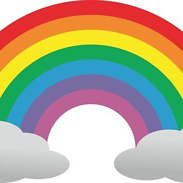 Gay Lesbian Rainbow LGBTQ+ sticker by DaniiAnn