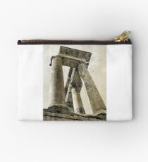 Temple of Saturn, Rome, Italy Studio Pouch