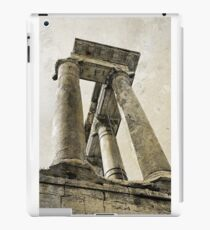 Temple of Saturn, Rome, Italy iPad Case/Skin