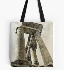 Temple of Saturn, Rome, Italy Tote Bag