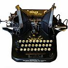 The Oliver Typewriter, Ancient Technology  1917 by Heather Friedman