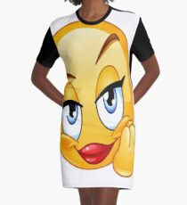 funny drawing Graphic T-Shirt Dress