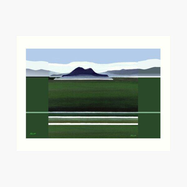 Somes Island - Matiu Art Print