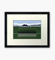 Somes Island - Matiu Framed Print