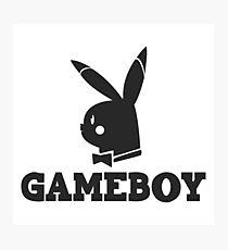 Game-Boy Photographic Print