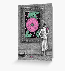 The Deathly Donut Greeting Card