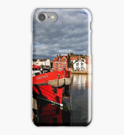 Reflections on the River Esk at Whitby, II iPhone Case/Skin