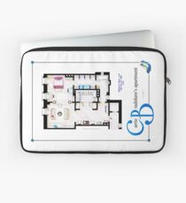 Carrie Bradshaws apartment as a Poster (Movie version) Laptop Sleeve