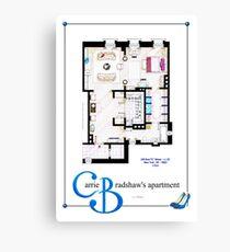 Carrie Bradshaws apartment as a Poster (Movie version) Canvas Print