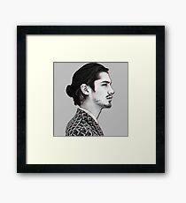 avan jogia Framed Print