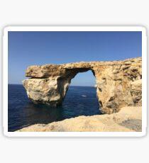 Azure Window, Malta Sticker