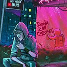 Bus Stop by cryoclaire