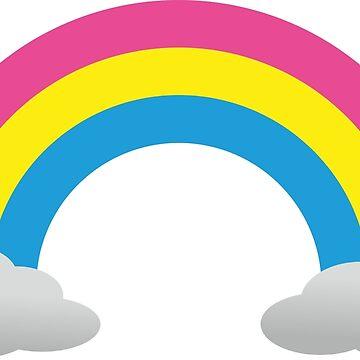 Pansexual Rainbow LGBTQ+ sticker by DaniiAnn