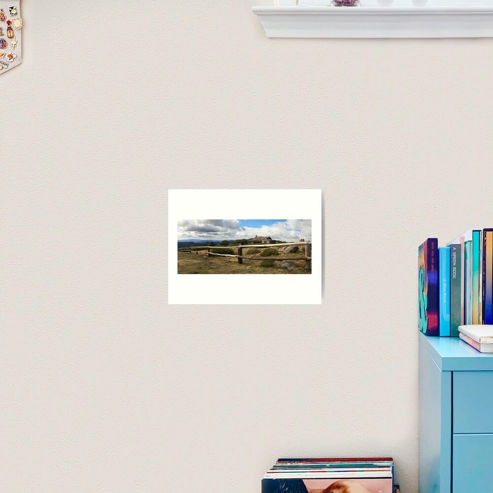 Craigs Hut, Mt Stirling, Australia Art Print