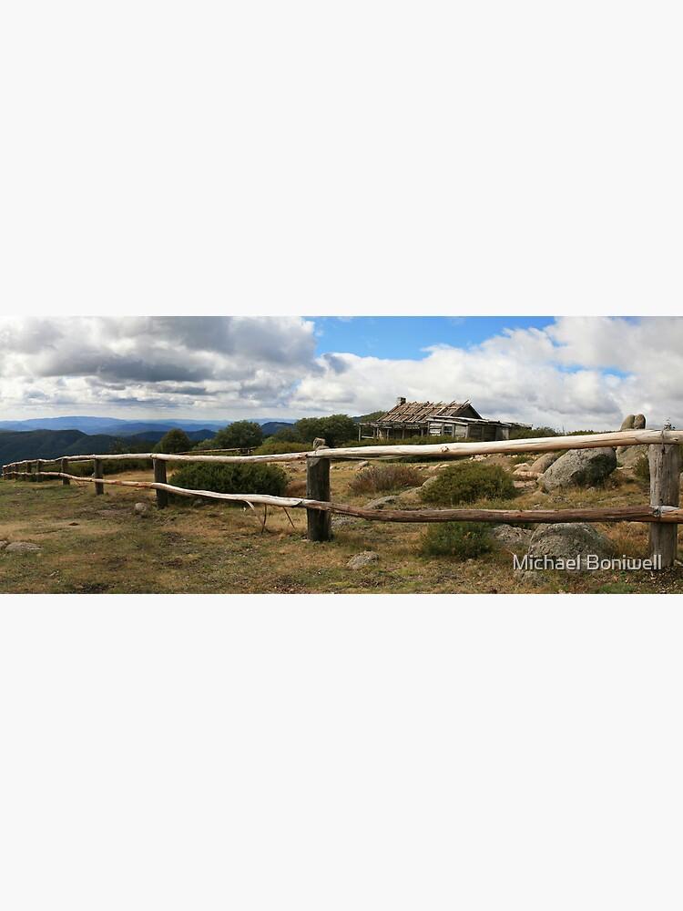 Craigs Hut, Mt Stirling, Australia by Chockstone