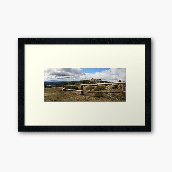 Craigs Hut, Mt Stirling, Australia Framed Art Print