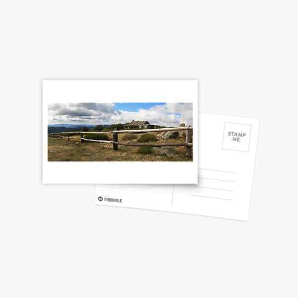 Craigs Hut, Mt Stirling, Australia Postcard