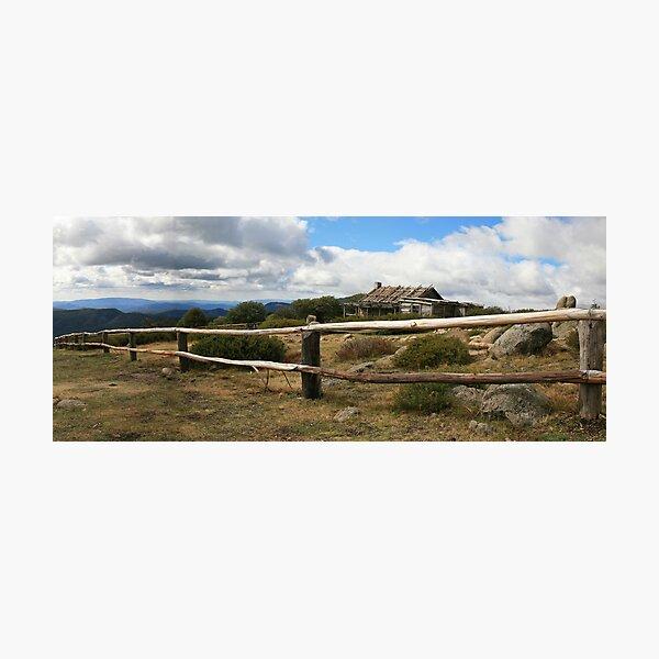 Craigs Hut, Mt Stirling, Australia Photographic Print
