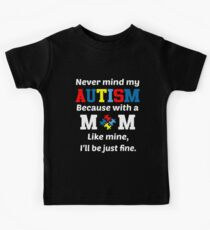 Autism Awareness Mom Kids Tee