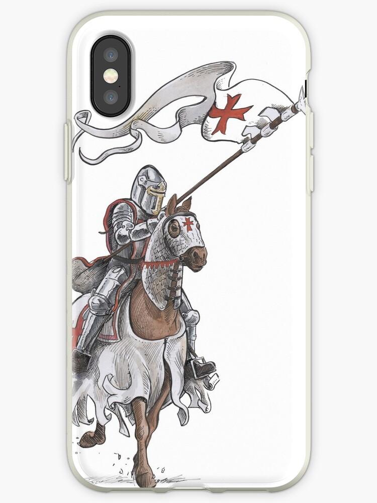 Templar on horse by SnakeArtist