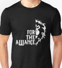 For The Alliance! (white) Unisex T-Shirt