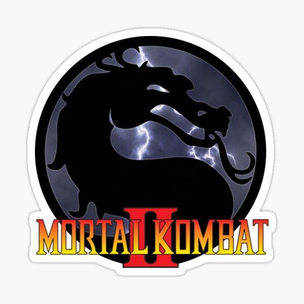 Mortal Kombat II Pegatina