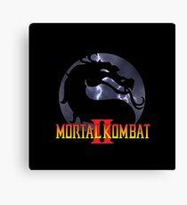 Mortal Kombat II Canvas Print