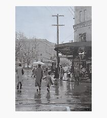 Macquarie Street From the GPO Photographic Print