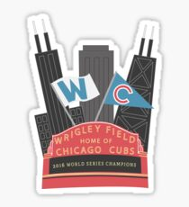 Wrigley Field Chicago, IL Sticker
