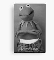 Kermit Clein Leinwanddruck