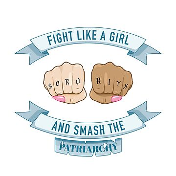 Fight like a girl by Cariatydes