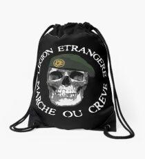LEGION ETRANGERE - MARCHE OU CREVE Drawstring Bag
