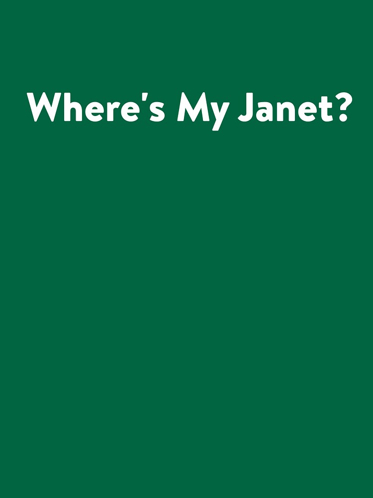 We all need a Janet by lostsheep007