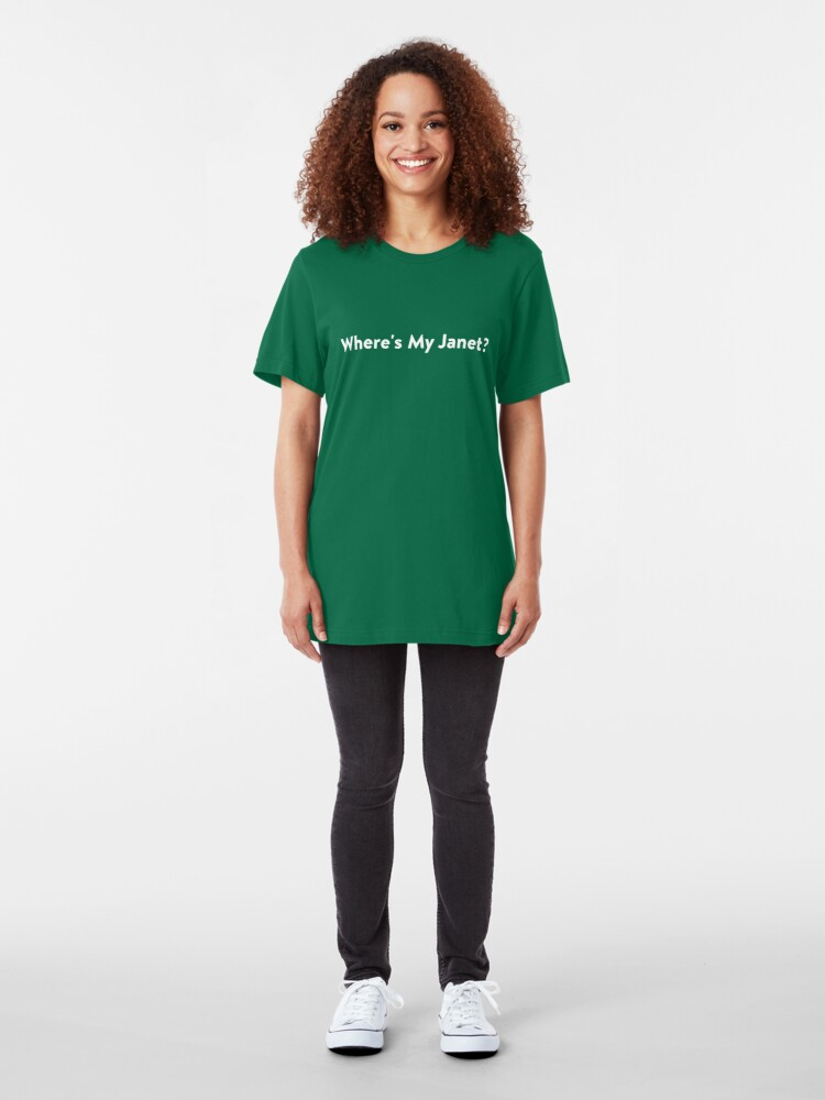 Alternate view of We all need a Janet Slim Fit T-Shirt