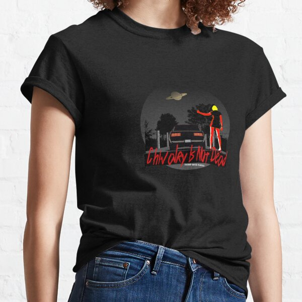 Chivalry Is Not Dead, Retro Firebird 1980s Hitchhiker , Swamp Music Players Classic T-Shirt
