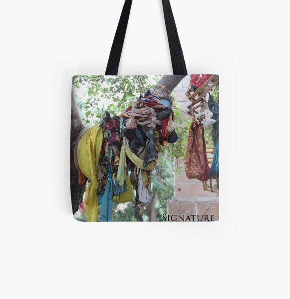Sacred Tree All Over Print Tote Bag