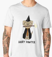 Hairy Pawter Dog Men's Premium T-Shirt