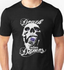 """""""Death before Domes"""" - Purple MX Zealot Unisex T-Shirt"""