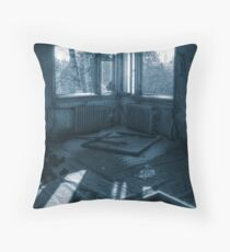 'Morning Blues' (hdr) Throw Pillow