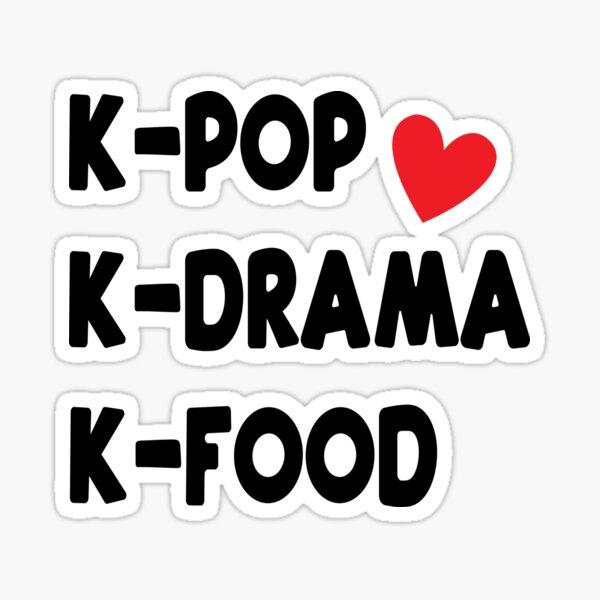 Kpop Kdrama Kfood Sticker