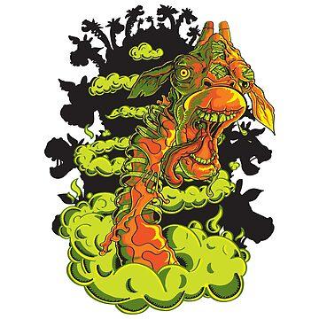 Zombie Giraffe Riot by ssliwa1