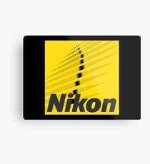 Nikon Merchandise Metal Print