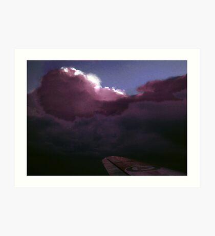 Arctic Thunderstorm Art Print